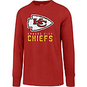 '47 Men's Kansas City Chiefs Rival Red Long Sleeve Shirt