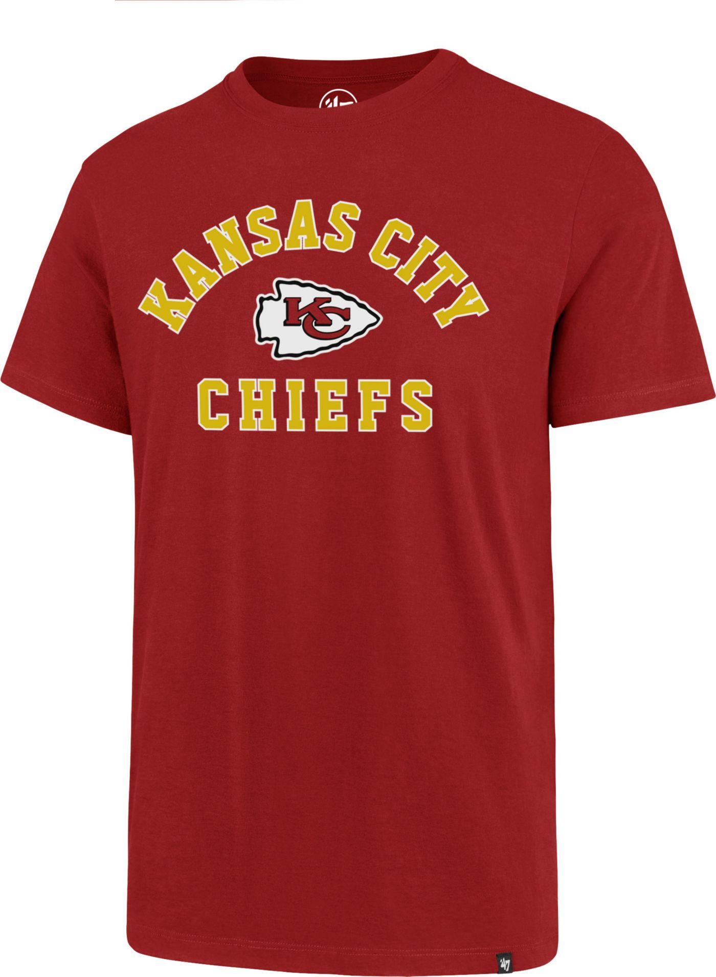 '47 Men's Kansas City Chiefs Rival Red T-Shirt