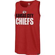 '47 Men's Kansas City Chiefs Mesh Print Red Tank Top