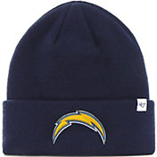 '47 Men's Los Angeles Chargers Basic Navy Cuffed Knit Beanie