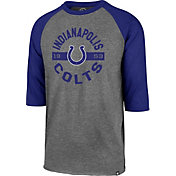 '47 Men's Indianapolis Colts Club Grey Raglan Shirt