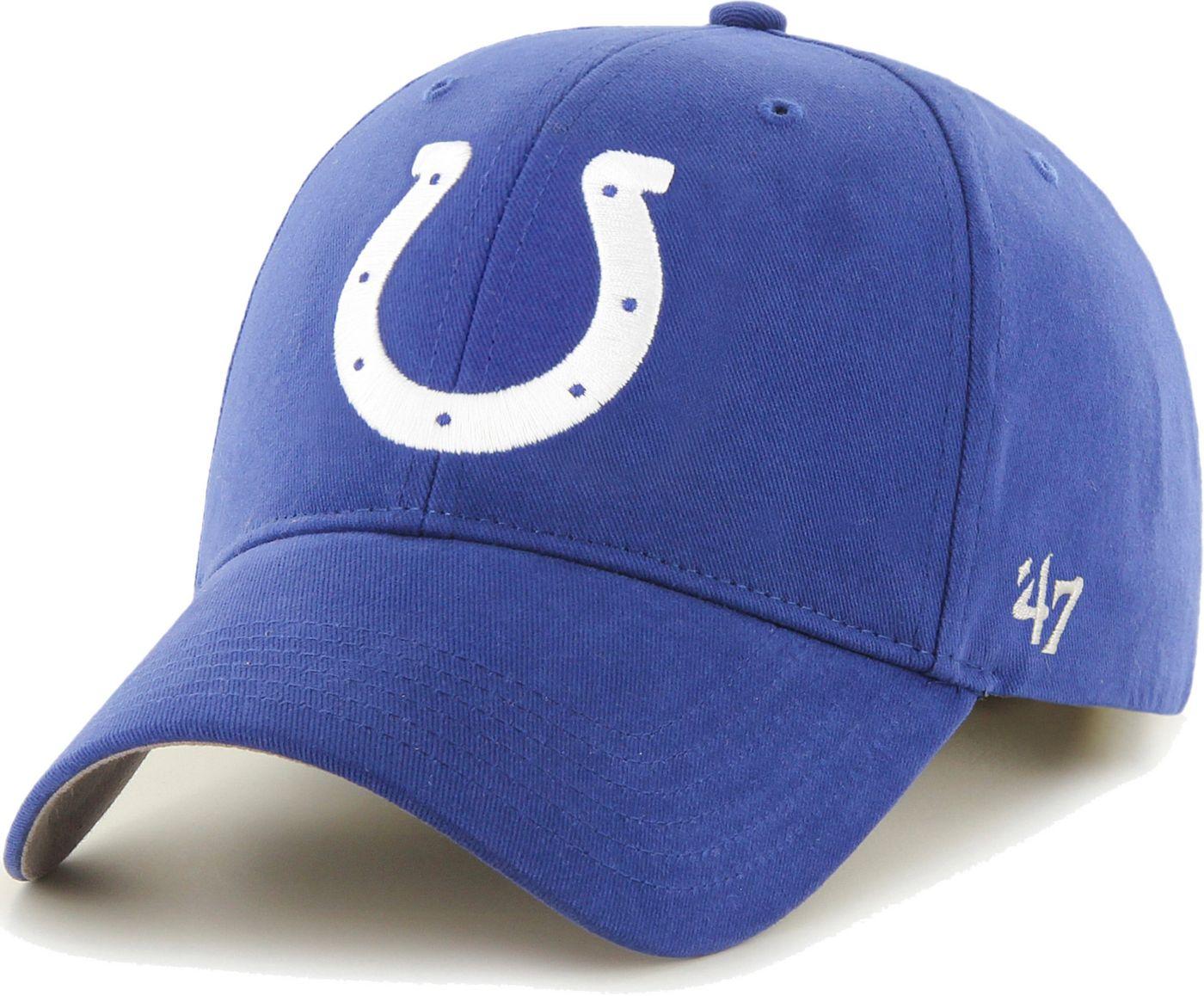 '47 Boys' Indianapolis Colts Basic MVP Kid Royal Hat