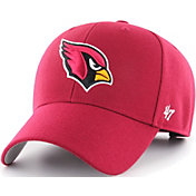 '47 Men's Arizona Cardinals MVP Black Adjustable Hat
