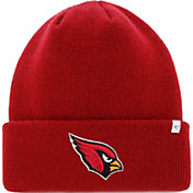 '47 Men's Arizona Cardinals Basic Red Cuffed Knit Beanie