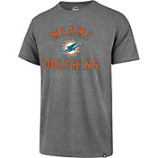 '47 Men's Miami Dolphins Rival Grey T-Shirt