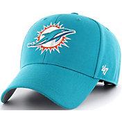 '47 Men's Miami Dolphins MVP Aqua Adjustable Hat
