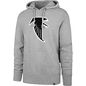 '47 Men's Atlanta Falcons Legacy Headline Grey Hoodie