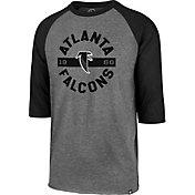 '47 Men's Atlanta Falcons Legacy Club Grey Raglan Shirt