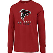 '47 Men's Atlanta Falcons Rival Red Long Sleeve Shirt