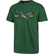 '47 Men's Philadelphia Eagles Fly Eagles Fly Green T-Shirt