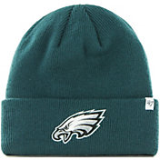 '47 Men's Philadelphia Eagles Basic Green Cuffed Knit Beanie