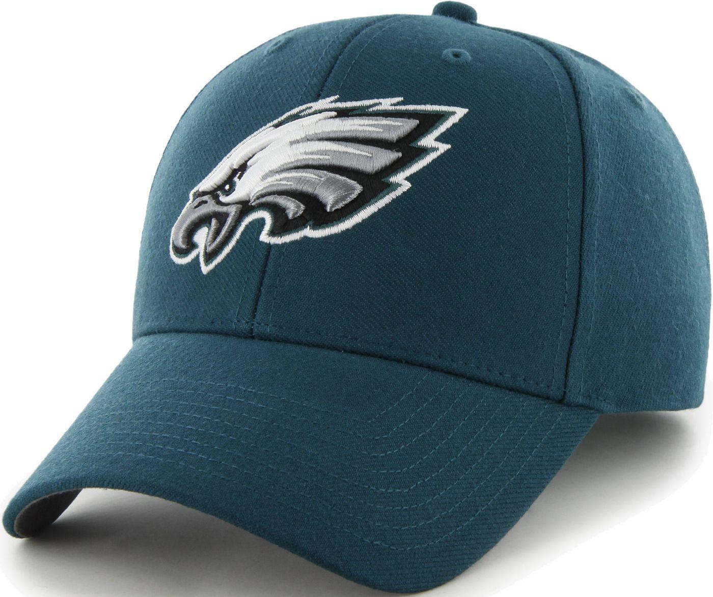 '47 Men's Philadelphia Eagles MVP Green Adjustable Hat