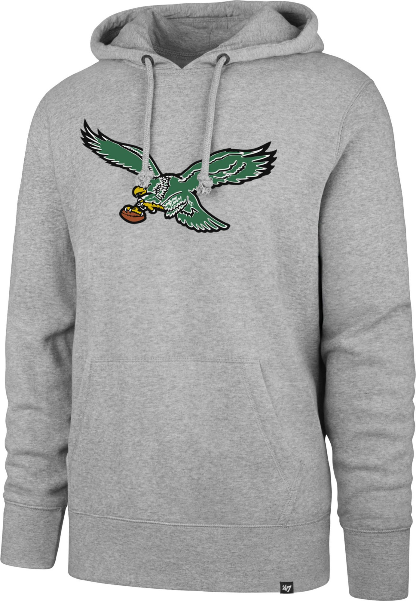 9d34a7e15 47 Men's Philadelphia Eagles Legacy Headline Grey Hoodie   DICK'S ...