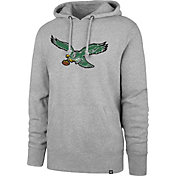 '47 Men's Philadelphia Eagles Legacy Headline Grey Hoodie
