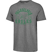 '47 Men's Philadelphia Eagles Match Grey T-Shirt