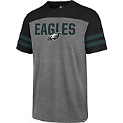 '47 Men's Philadelphia Eagles Versus Club Grey T-Shirt