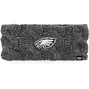 '47 Men's Philadelphia Eagles Penelope Charcoal Headband
