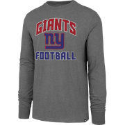 '47 Men's New York Giants Game Changer Club Grey Long Sleeve Shirt