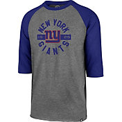'47 Men's New York Giants Club Grey Raglan Shirt