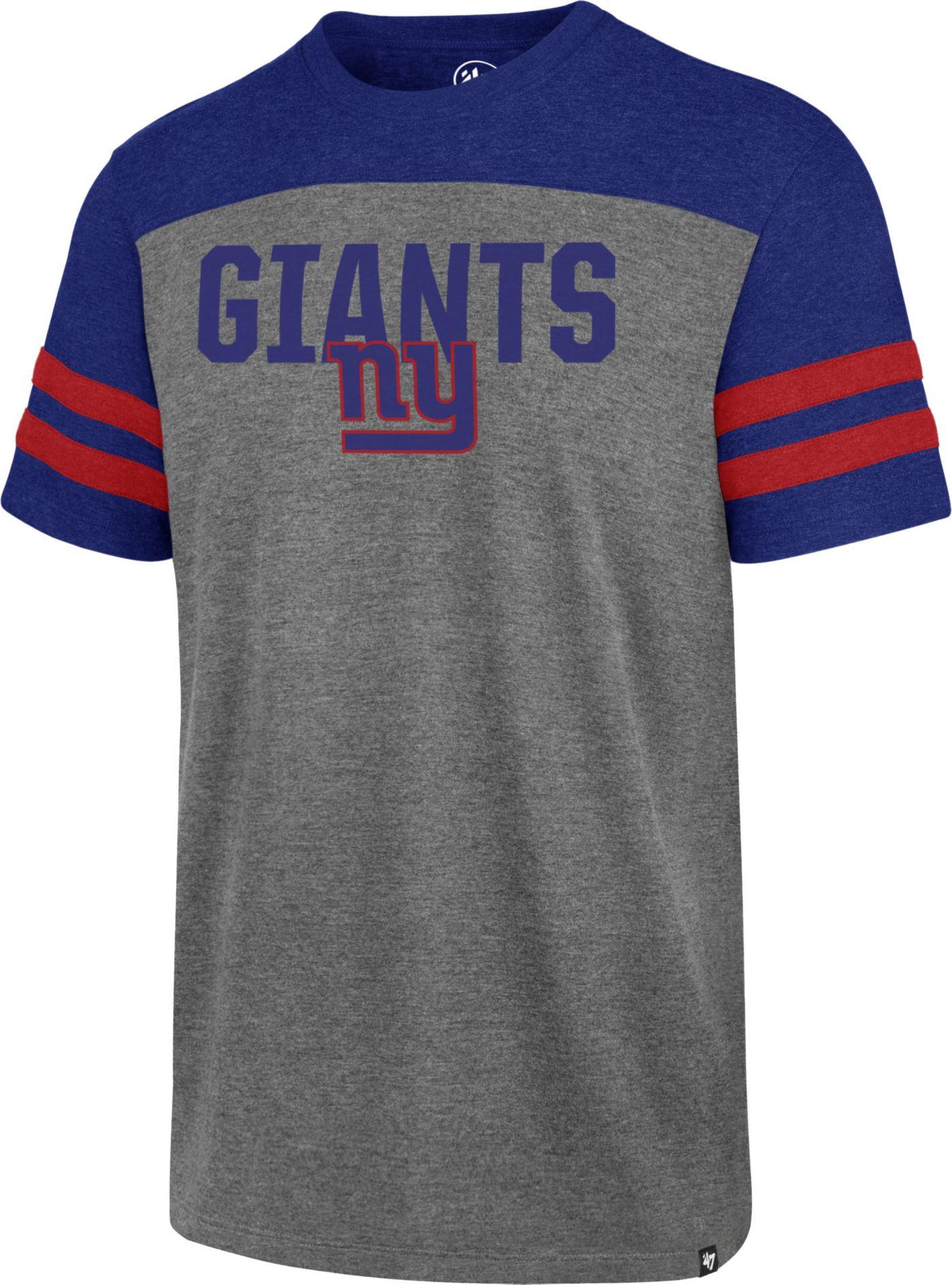 '47 Men's New York Giants Versus Club Grey T-Shirt
