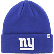 '47 Men's New York Giants Basic Royal Cuffed Knit Beanie