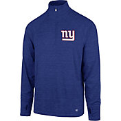 '47 Men's New York Giants Forward Royal Quarter-Zip Pullover