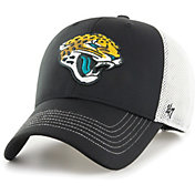 '47 Men's Jacksonville Jaguars Cutback MVP Black Adjustable Hat