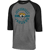 '47 Men's Jacksonville Jaguars Club Grey Raglan Shirt