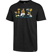 '47 Men's Jacksonville Jaguars JAX Black T-Shirt
