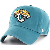 '47 Men's Jacksonville Jaguars Clean Up Teal Adjustable Hat