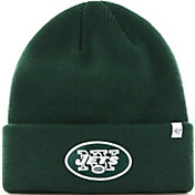 bc88355068c Product Image ·  47 Men s New York Jets Basic Green Cuffed Knit Beanie.