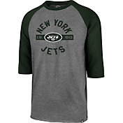 '47 Men's New York Jets Club Grey Raglan Shirt