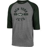 16c01bff9  47 Men s New York Jets Club Grey Raglan Shirt.