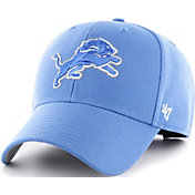 '47 Men's Detroit Lions MVP Blue Adjustable Hat