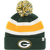 '47 Men's Green Bay Packers Breakaway Cuffed Green Knit