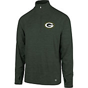 '47 Men's Green Bay Packers Forward Green Quarter-Zip Pullover