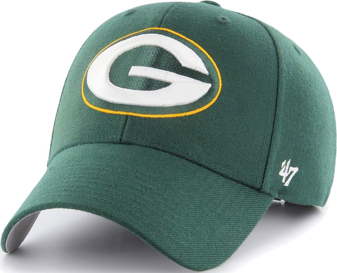 '47 Men's Green Bay Packers MVP Green Adjustable Hat
