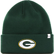 '47 Men's Green Bay Packers Basic Green Cuffed Knit Beanie