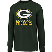 '47 Men's Green Bay Packers Rival Green Long Sleeve Shirt