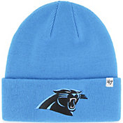 '47 Men's Carolina Panthers Basic Blue Cuffed Knit Beanie
