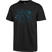 '47 Men's Carolina Panthers Claw Black T-Shirt