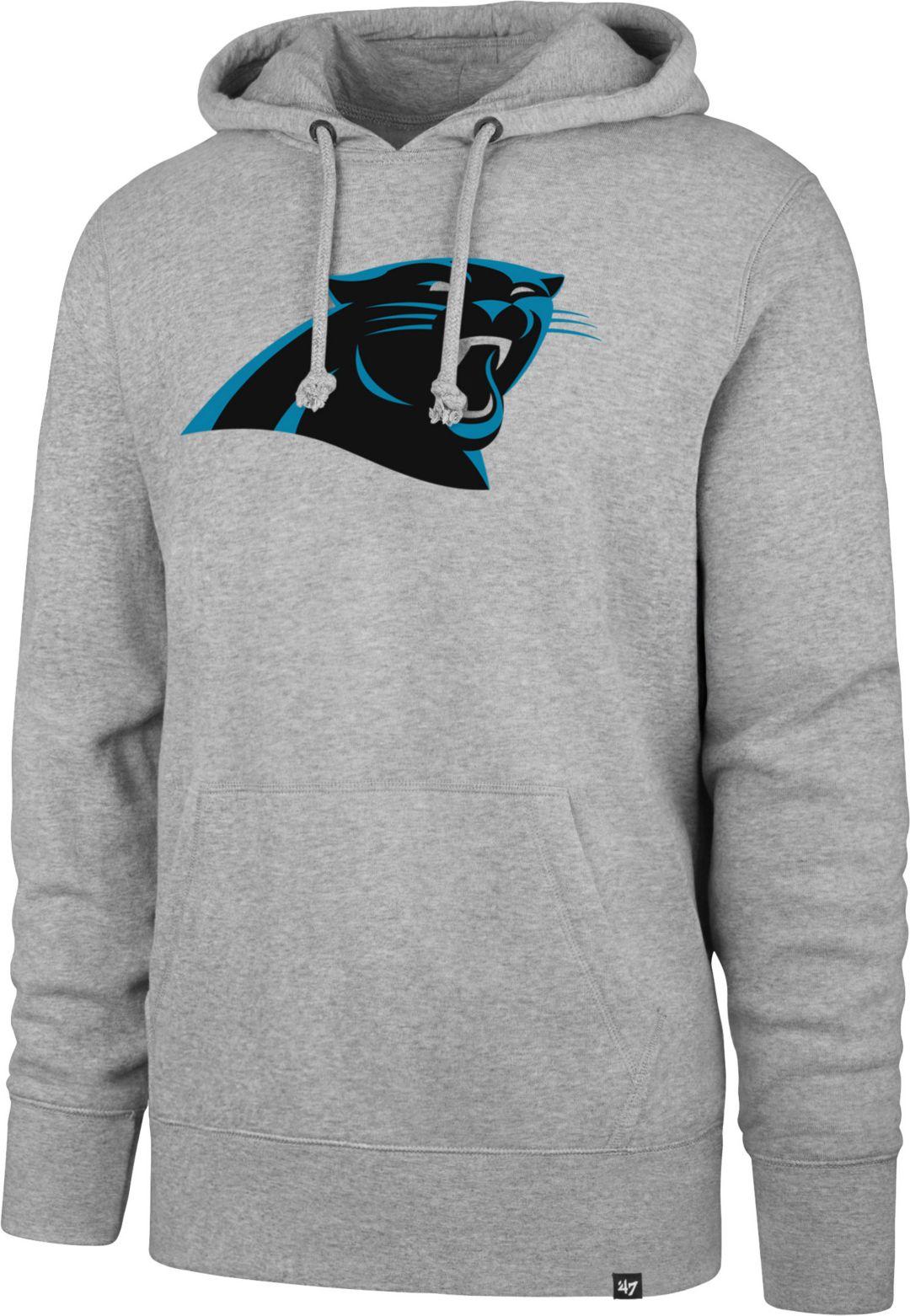 9d33f8fd '47 Men's Carolina Panthers Headline Grey Hoodie