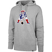 '47 Men's New England Patriots Legacy Headline Grey Hoodie