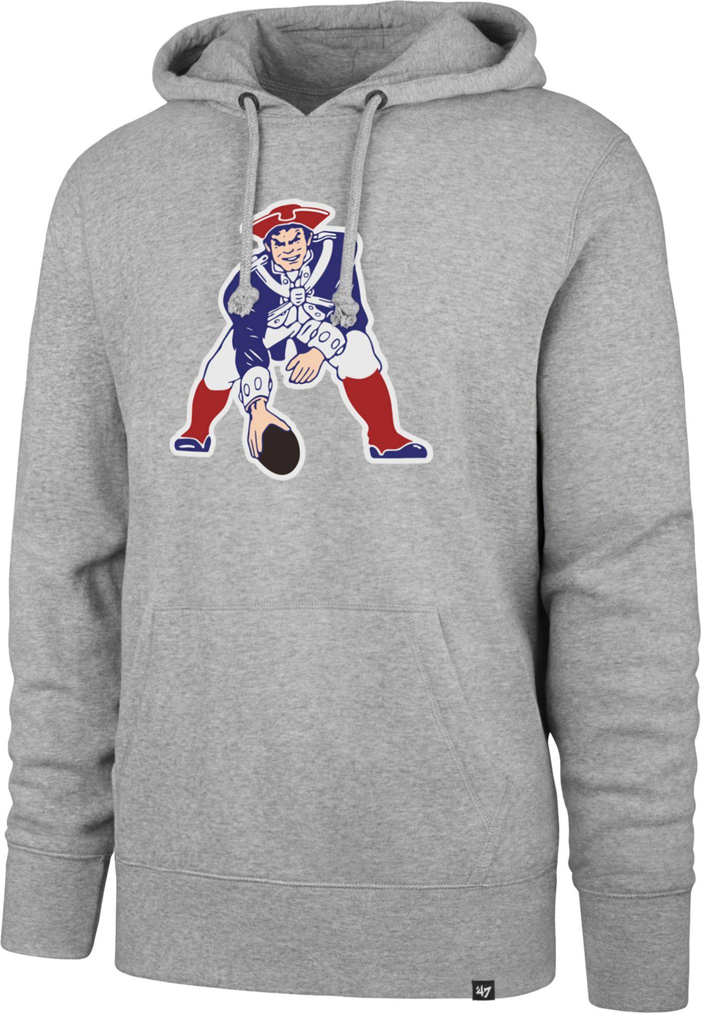 '47 Men's New England Patriots Legacy Headline Grey Hoodie