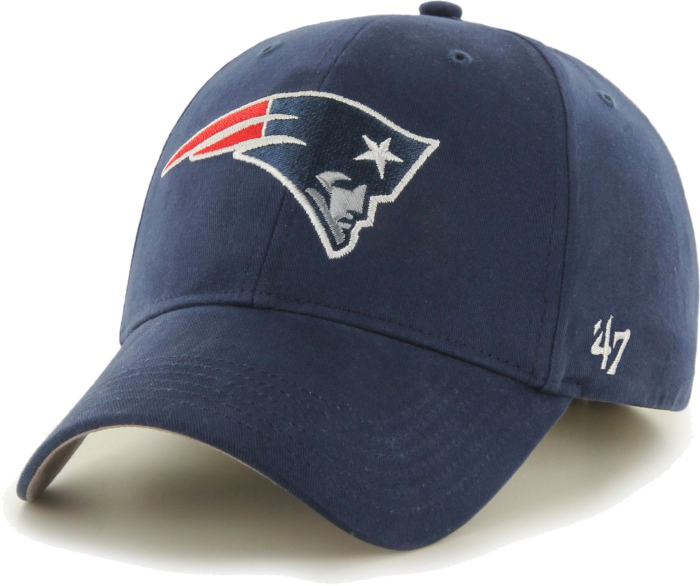 '47 Boys' New England Patriots Basic MVP Kid Navy Hat