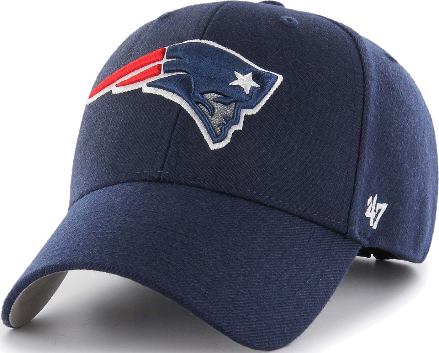 '47 Men's New England Patriots MVP Navy Adjustable Hat
