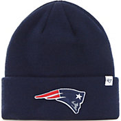 '47 Men's New England Patriots Basic Navy Cuffed Knit Beanie