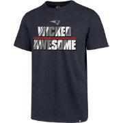 '47 Men's New England Patriots Wicked Awesome Navy T-Shirt