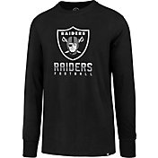 '47 Men's Oakland Raiders Rival Black Long Sleeve Shirt