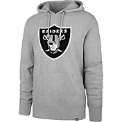 '47 Men's Oakland Raiders Headline Grey Hoodie
